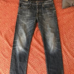 G Star Raw Distressed Jeans